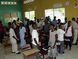CLM workshop at the Diocese of Cap Haitien, Haiti